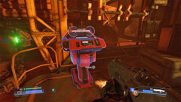 Каждая миссия имеет 1 терминал Automap - Типы секретов в Doom - Секреты - Руководство по игре в Doom и прохождение