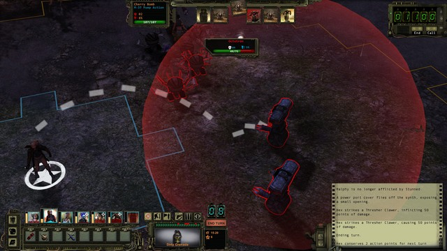 AoE attack. - Combat tactics | Combat - Combat - Wasteland 2 Game Guide & Walkthrough