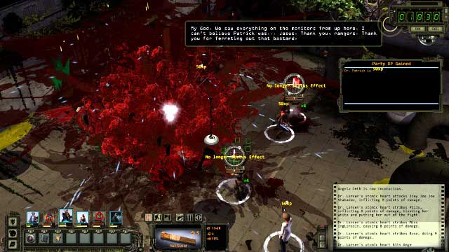 Larsen explodes after he dies - keep your party away from him - Main quest - Mount the Repeater Unit / deactivate the irrigation system | Ag center - quests - Ag center - quests - Wasteland 2 Game Guide & Walkthrough