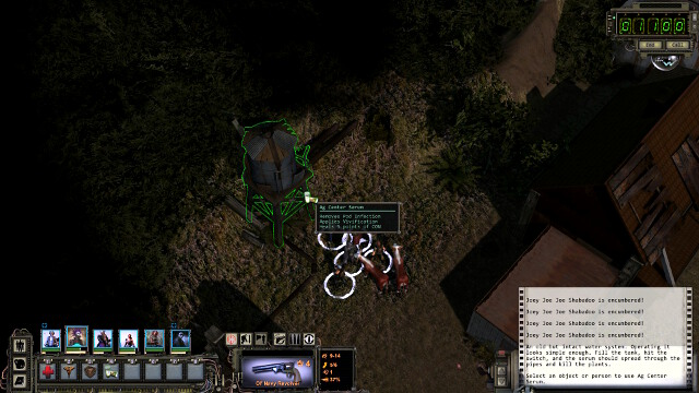 Pouring of the serum to the tank - Miscellaneous | Ag center - quests - Ag center - quests - Wasteland 2 Game Guide & Walkthrough