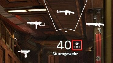 When you call up the weapons selection menu, search for those that have the same marks next to the information about ammo - Correctly chosen arguments | Wolfenstein Youngblood Trophies - Trophy guide - Wolfenstein Youngblood Guide