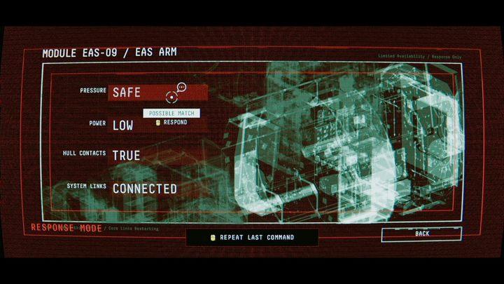 Эмма даст вам доступ к диагностической системе - I. Пробуждение    Прохождение Наблюдения - Прохождение - Руководство по Наблюдению