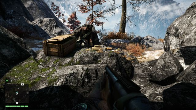 To reach the summit, you have to use the hook in the narrow passage a few times - Northern and north-eastern Kyrat - Lost Letters - Far Cry 4 - Game Guide and Walkthrough