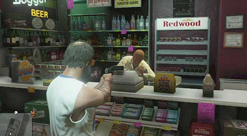 Give your money! - Shops to rob - Shopping - Grand Theft Auto V Game Guide