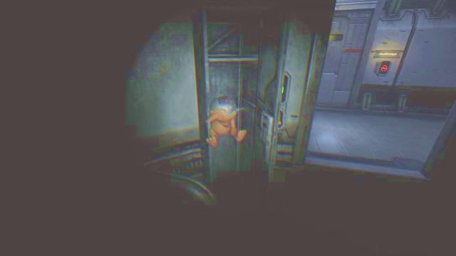 Picking up the plushie will initiate a conversation between Catherine and Simon. - Theta station | Collectibles in SOMA Game - Collectibles - SOMA Guide