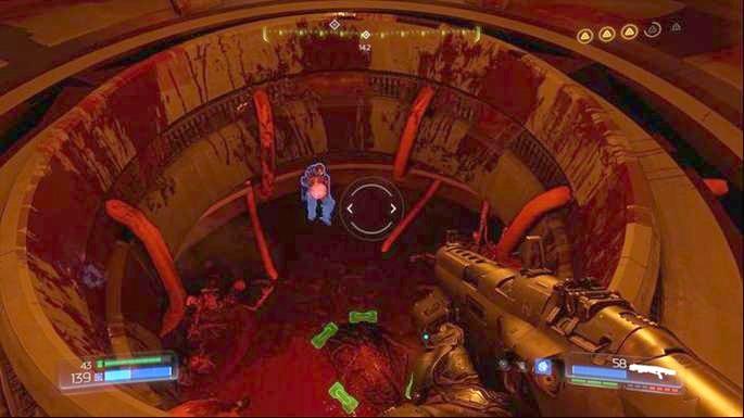 Pull it and jump one floor below - Lazarus Labs | Secrets - Secrets - Doom Game Guide & Walkthrough