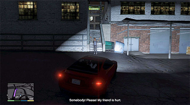 The woman crying for help - Luring girl into alley - Random events - Grand Theft Auto V Game Guide