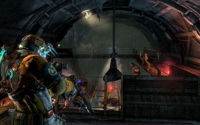 После того, как вы подберете ключ, вы будете атакованы следующей волной Некроморфов - Соберите тайник с боеприпасами |  Побочные миссии: Оружейная - Побочные миссии: Оружейная - Dead Space 3 Руководство по игре