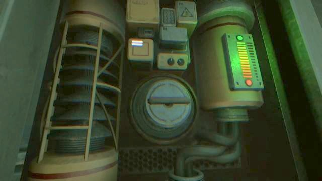 You must use the pump to turn the power back on. - Theta | Riddles and puzzles of SOMA Game - Riddles and puzzles - SOMA Guide