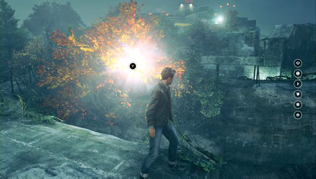 Get to the wall by climbing the cannon and go to the other side of it. - Chronon Sources (act III) - Secrets - Quantum Break - Game Guide and Walkthrough