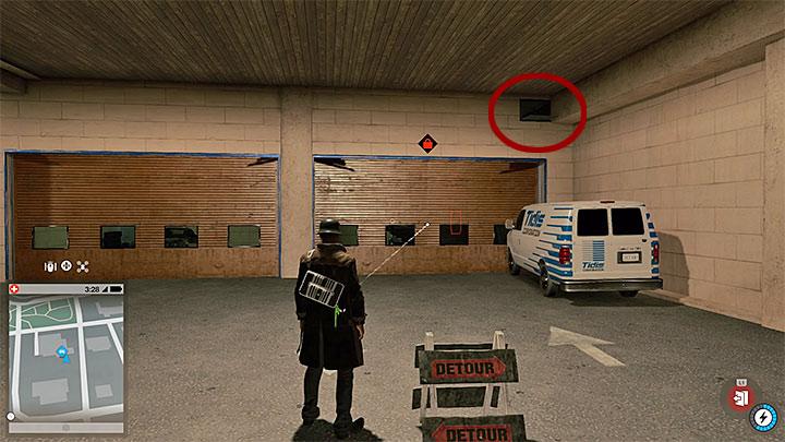 Этот автомобиль припаркован в одном из гаражей на подземной парковке - Малярные работы, одежда и уникальные транспортные средства - Коллекционирование - Руководство по игре Watch Dogs 2