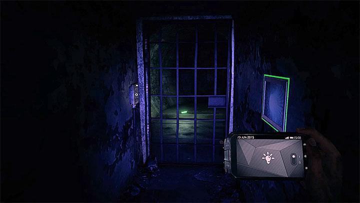 Proceed forward and watch a new cut-scene (screenshot 1) - The Victim | Hidden memories - Hidden memories - Get Even Game Guide