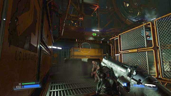После того, как вы восстановите силу и пройдете уровень ниже, продолжайте идти вперед до встречи с бесами - Операции с ресурсами |  Секреты - Секреты - Руководство по игре в Doom и прохождение