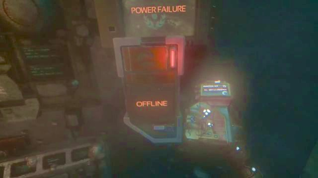 All those power failures... - Outside Omicron | Riddles and puzzles of SOMA Game - Riddles and puzzles - SOMA Guide