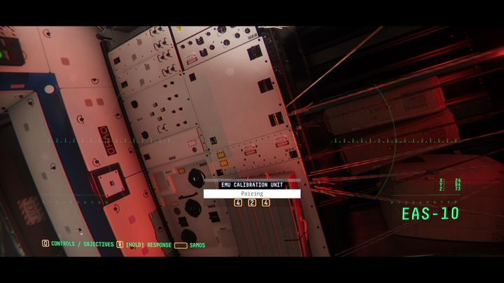 В той же комнате вы также найдете устройство под названием EMU CALIBRATION UNIT - II.  Реактор  Прохождение Наблюдения - Прохождение - Руководство по Наблюдению
