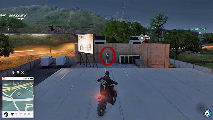 После успешной посадки поверните направо и прыгайте на крышу главного здания - Точки исследования - карта, локации 1-61 - Коллекционирование - Руководство по игре Watch Dogs 2