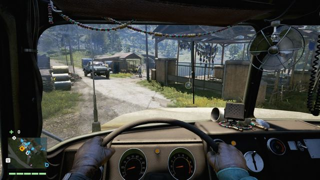 Delivering the truck into the marked area is additionally rewarded. - Royal cargo - Activities - Far Cry 4 - Game Guide and Walkthrough