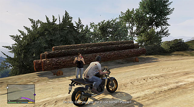 The hitchhiker - Hitchhiker - 2 - Random events - Grand Theft Auto V Game Guide