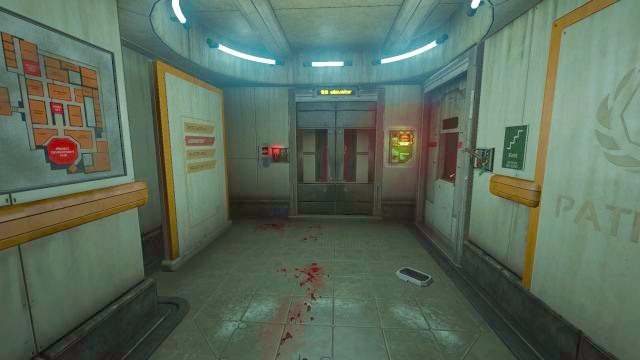 Theres a terminal to perform a Data Buffer here, as well as the elevator and extremely helpful map. - Theta laboratory | Collectibles in SOMA Game - Collectibles - SOMA Guide