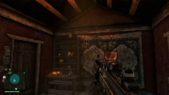 At the end of the narrow road, you will find a house - Southern and central Kyrat - Yalungas Masks - Far Cry 4 - Game Guide and Walkthrough