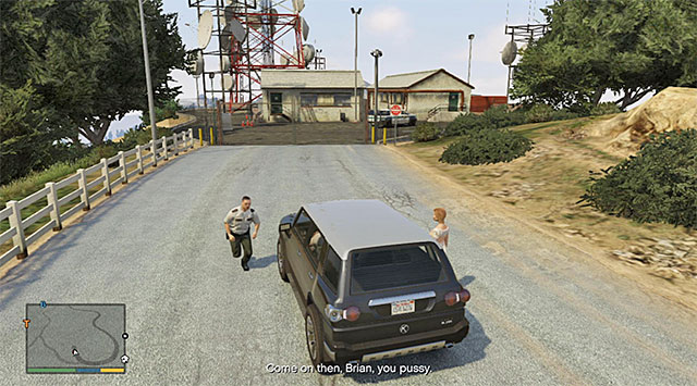 You can kill the boyfriend of the girl that you gave a lift to, or ignore him and drive away - Hitchhiker - 3 - Random events - Grand Theft Auto V Game Guide
