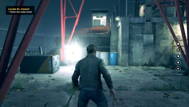 Another source, this time hidden below a radio tower. - Chronon Sources (act III) - Secrets - Quantum Break - Game Guide and Walkthrough