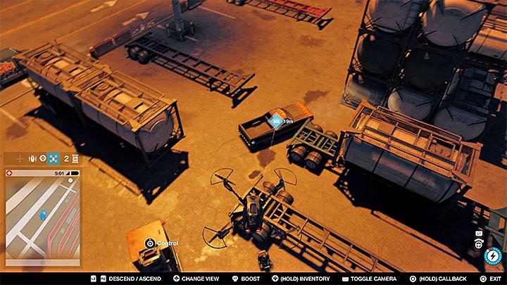 Это транспортное средство можно найти в одном из открытых контейнеров в порту - Покрасочные работы, одежда и уникальные транспортные средства - Коллекционирование - Руководство по игре Watch Dogs 2