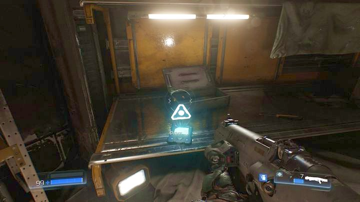 Продолжайте идти вперед после встречи с первым одержимым инженером - Операции с ресурсами |  Секреты - Секреты - Руководство по игре в Doom и прохождение