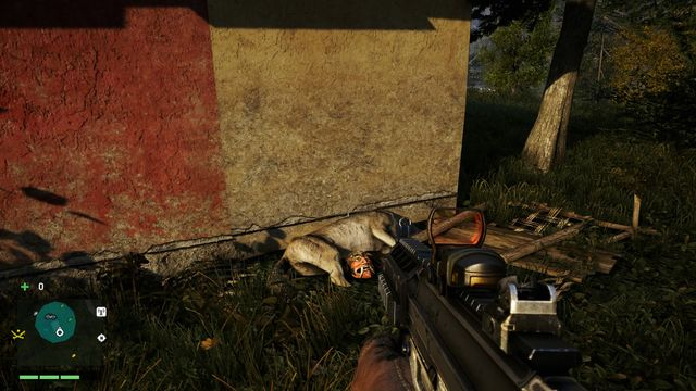 Circle the house from the left and locate a wooden cage near the corner - Southern and central Kyrat - Yalungas Masks - Far Cry 4 - Game Guide and Walkthrough