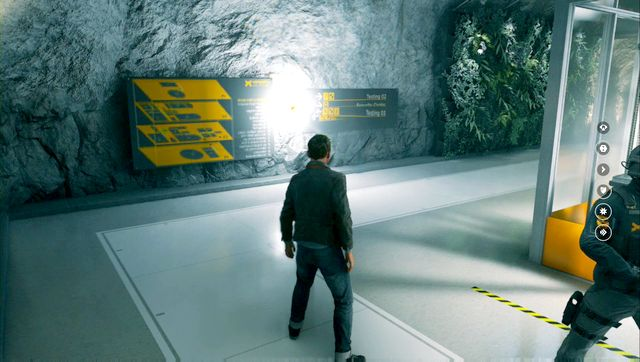 You will find another source on the corner of the lab. - Chronon Sources (act III) - Secrets - Quantum Break - Game Guide and Walkthrough