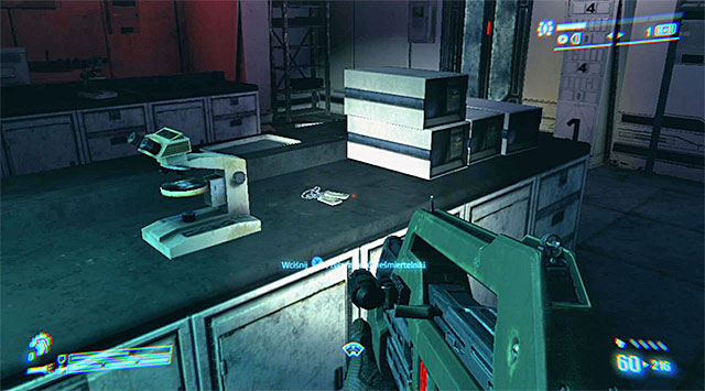 DOG TAG 26/35 (PFC Mark Drake) - In one of the lab rooms (the same you went through in the mission 4), on the table - Dog Tags (missions 6-11) - Collectibles - Aliens: Colonial Marines - Game Guide and Walkthrough