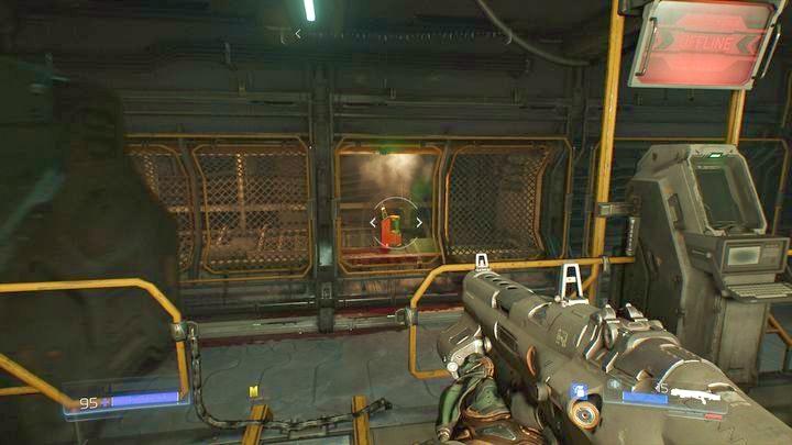 Идите направо от желтой двери, как только получите желтый ключ - Операции с ресурсами |  Секреты - Секреты - Руководство по игре в Doom и прохождение