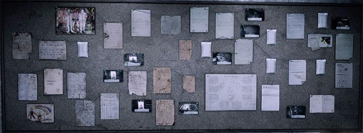 The evidence for building C is shown on the screenshot above - Psychiatric Asylum - Building C | Hidden memories - Hidden memories - Get Even Game Guide