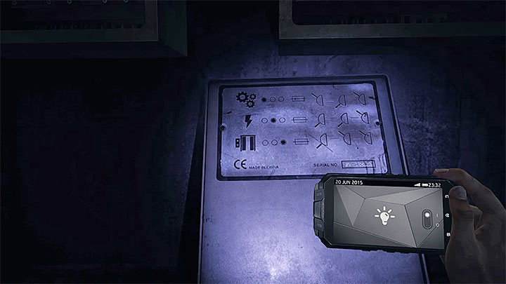 You will be able to activate the lift if you adjust nine levers correctly (they are located in boxes on the wall - How to activate the lift? - Solving the puzzles - Get Even Game Guide