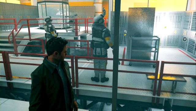 Collect the secret hidden behind the lockers. - Chronon Sources (act III) - Secrets - Quantum Break - Game Guide and Walkthrough