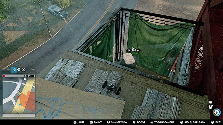 Once you jump to the scaffolding, reach the outermost end - Key data - locations from 1 to 12 - Collectibles - Watch Dogs 2 Game Guide