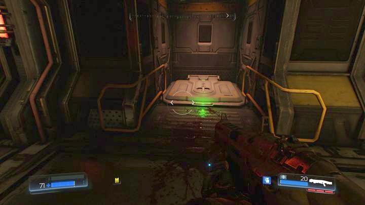 Справа от коридора вы должны заметить закрытый люк - Ресурс Операции |  Секреты - Секреты - Руководство по игре в Doom и прохождение