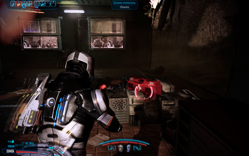 Medkit II [100 exp] - on the platform patrolled by cannibals, marauder and a reaper - Namakli - Walkthrough - Mass Effect 3: Leviathan - Game Guide and Walkthrough