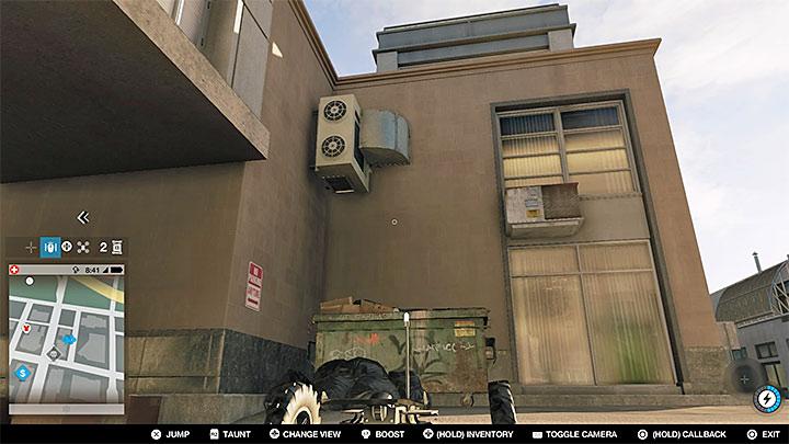 Эта исследовательская точка расположена на вершине здания с двумя башнями, но для ее приобретения вам придется пройти некоторые основные приготовления - Исследовательские пункты - карта, локации 1-61 - Коллекционирование - Руководство по наблюдению за собаками 2