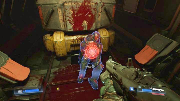 Поверните налево, когда у вас будет два пути на выбор - Операции с ресурсами |  Секреты - Секреты - Руководство по игре в Doom и прохождение