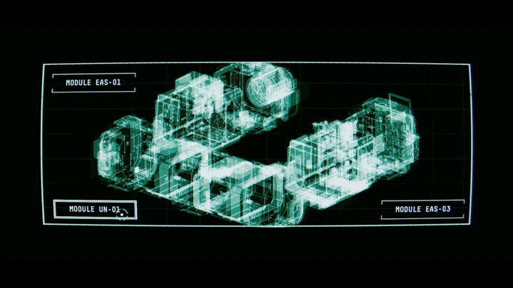 Схема станции откроется - III.  Первая космическая прогулка    Прохождение Наблюдения - Прохождение - Руководство по Наблюдению