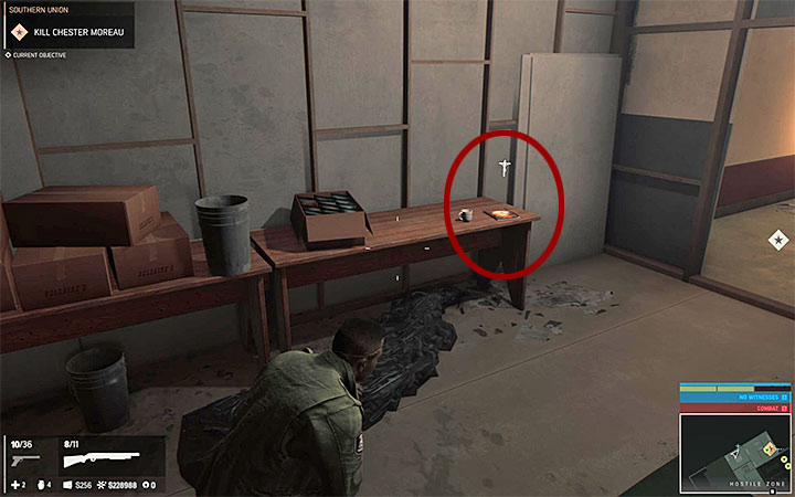 The magazine is located on the floor of The Bellaires supermarket and its exact location is shown in the picture above - Repent magazines | Secrets - Secrets - Mafia III Game Guide