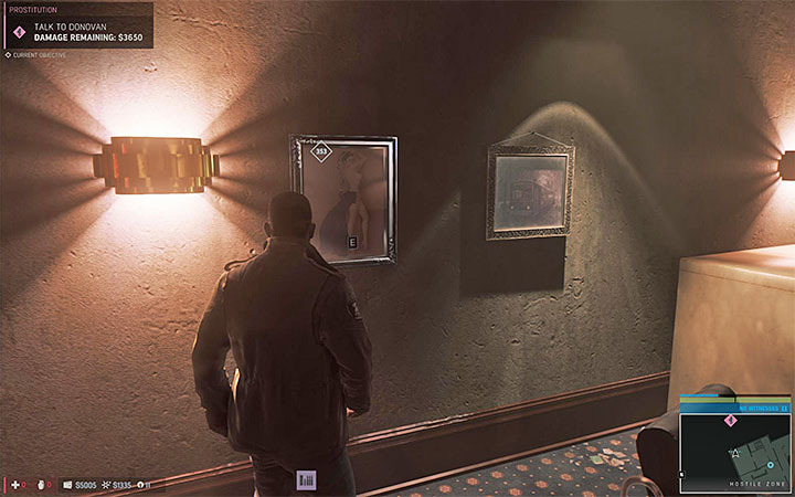 Painting 1 is on the ground floor and painting 2 is on the first floor - Vargas paintings   Secrets - Secrets - Mafia III Game Guide