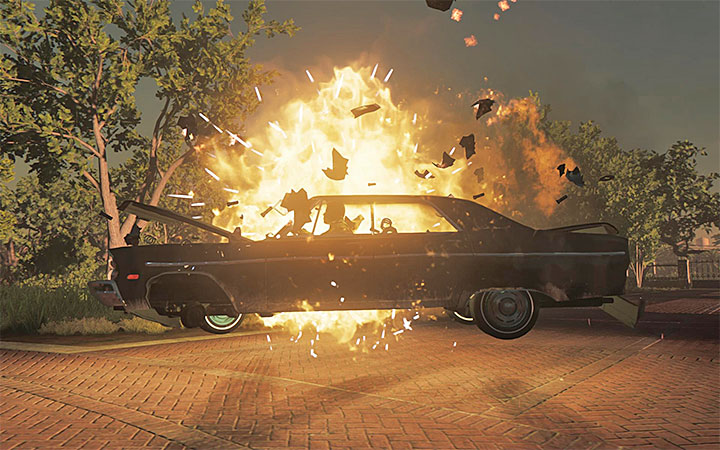 After killing his subordinates, Lincoln himself will die in a booby-trapped car. - Mafia 3 endings   Walkthrough - Story missions - Mafia III Game Guide