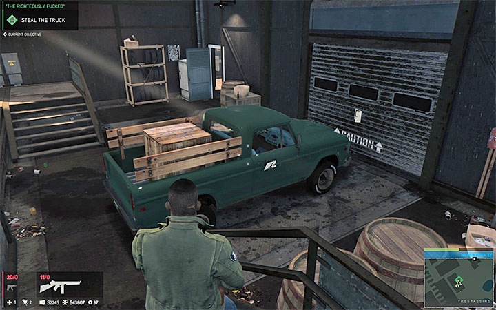 Get rid of all the enemies guarding the vehicle and then steal it - Racket-related missions - Optional missions - Mafia III Game Guide