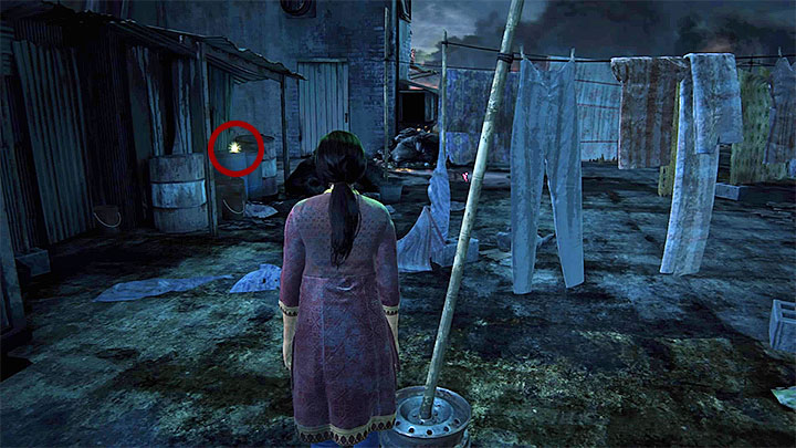 The treasure can be found after reaching the rooftop by using the ladder or the stairs - 1 - The Insurgency | Secrets - Secrets - Uncharted: The Lost Legacy Game Guide