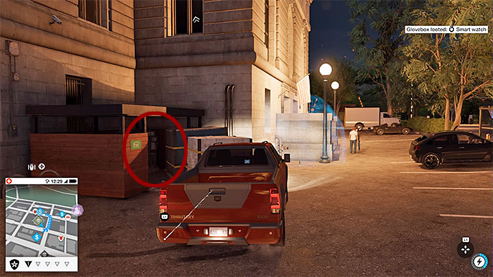 Begin near a big building, and locate a small area with various boxes (visible on the screenshot) - Key data - locations from 1 to 12 - Collectibles - Watch Dogs 2 Game Guide