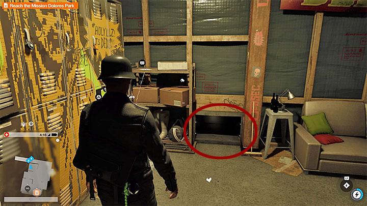 Осмотрите место для входа в другую шахту - Покраска рабочих мест, одежда и уникальные транспортные средства - Коллекционирование - Руководство по игре Watch Dogs 2