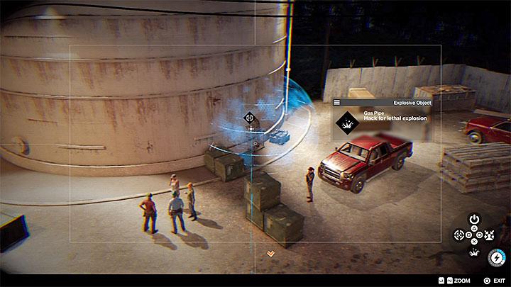 Вы можете установить ловушки, выбрав нужные элементы для взлома - Общие советы - Основы - Руководство по игре Watch Dogs 2