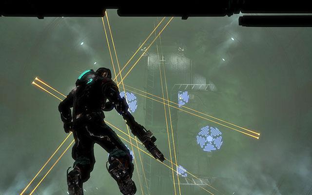 Добравшись до дна, пройдите через единственную доступную дверь - Исследуйте хранилище артефактов    Побочные миссии: Хранение артефактов - Побочные миссии: Хранение артефактов - Dead Space 3 Game Guide